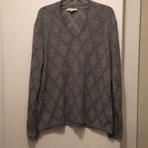 Gray Liz Claiborne sweater